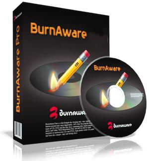 برنامه رایگان رایت سی دی BurnAware Free