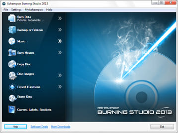 نرم افزار رایت Ashampoo Burning Studio FREE 1.12.0