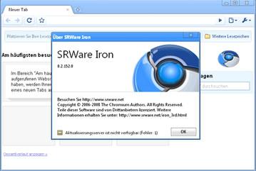 مرورگر SRWare Iron 30.0.1650.00
