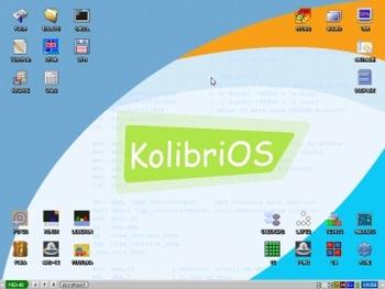سیستم عامل کم حجم KolibriOS
