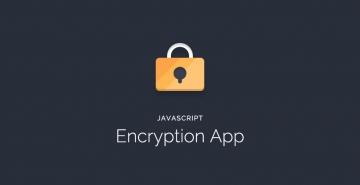 JavaScript Encryption App