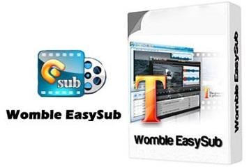 نرمافزار مدیریت زیرنویس فیلم Womble EasySub