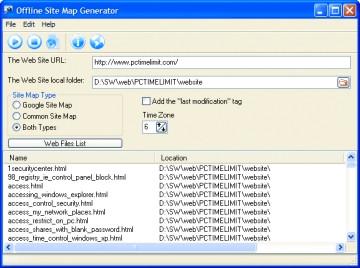 SiteMap Generator ایجاد نقشه وب سایت