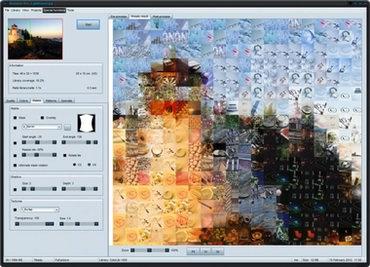 برنامه ساخت تصاویر موزاییکی Mosaizer pro