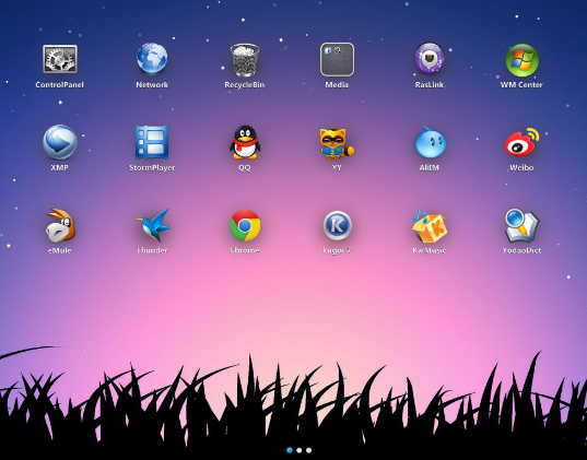 برنامه میانبر برای کامپیوتر XLaunchpad