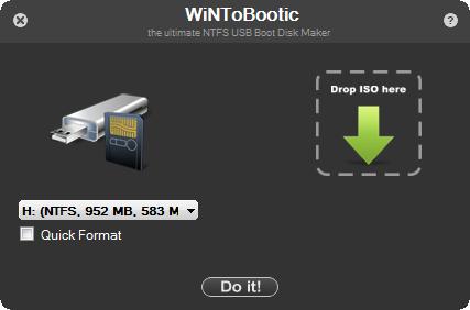 بوت فلش برای ویندوز WiNToBootic