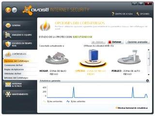 حفاظت از سیستم Avast Internet Security
