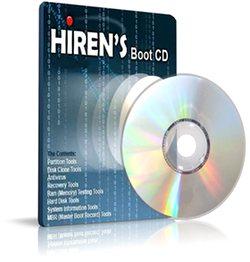 سی دی بوت Hiren's BootCD