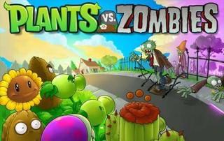 بازی کم حجم Plants vs Zombies