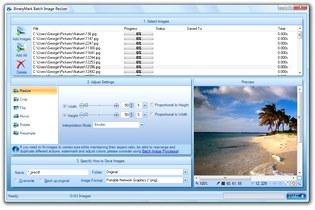 تغییر سایز فرمت کیفیت عکس Batch Image Resizer