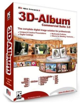 آلبوم عکس 3D-Album Commercial Suite