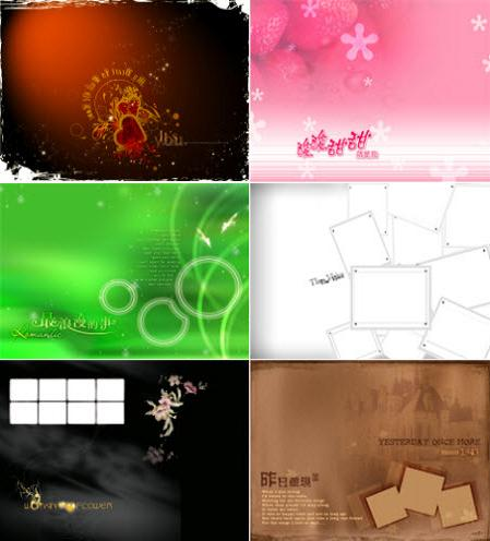 Romantic PSD طرحهای رمانتیک