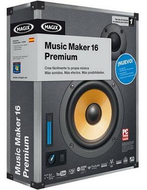 آهنگ سازی حرفه ای MAGIX Music Maker Premium