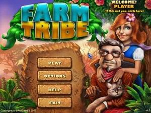 بازی کم حجم و زیبای Farm Tribe