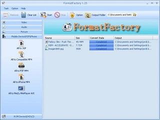 مبدل FormatFactory