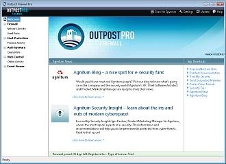 دانلود فایروال Outpost Firewall Pro