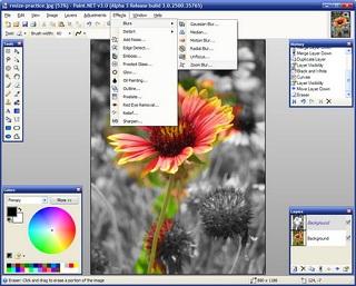 Paint.NET نرم افزار طراحی و ویرایش تصاویر