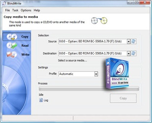 VSO Software BlindWrite رایت CD قفلدار خشدار