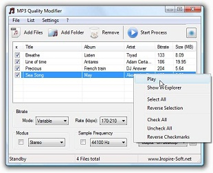 MP3 Quality Modifier افزایش کیفیت فایلهای mp3
