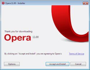 مرورگر سریع و قدرتمند Opera 11