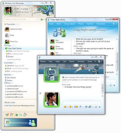 دانلود مسنجر Windows Live Messenger