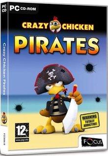 بازی کم حجم و سرگرم کننده جوجه دیوانه Crazy Chicken Pirates