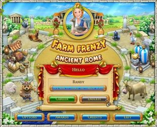 بازی کم حجم Farm Frenzy Ancient Rome