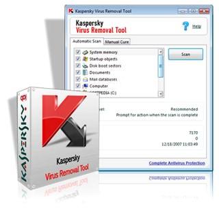آنتی ویروس Kaspersky Virus Removal Tool