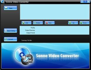 مبدل ویدئو Sonne Video Converter