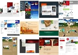 قالب سایت Web Design Inspiration