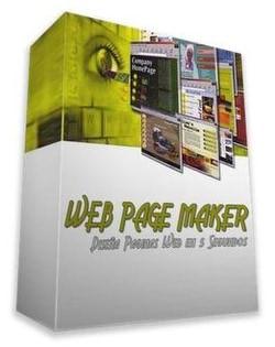 طراحی وب Web Page Maker