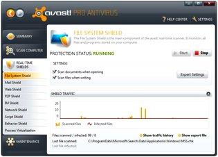 آنتی ویروس Avast! Antivirus Pro