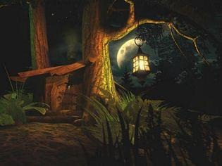 اسکرین سیور Fantasy Moon 3D Screensaver