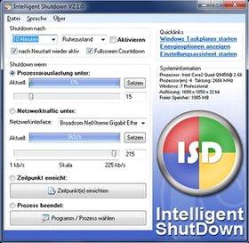 خاموش کردن Intelligent Shutdown