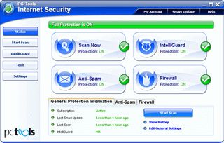 امنیتی PC Tools Internet Security