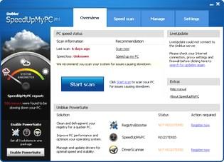 افزایش سرعت Uniblue SpeedUpMyPC