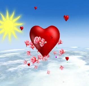 والنتاین ولنتاین Valentine's Day 3D Screensaver