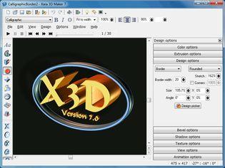 سه بعدی Xara 3D Maker