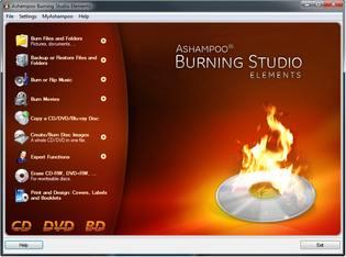 رایت کپی Ashampoo Burning Studio Elements