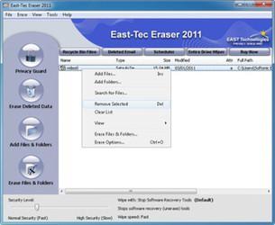 پاکسازی ردپا East-Tec Eraser