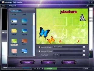 ساخت دی وی دی Joboshare DVD Creator