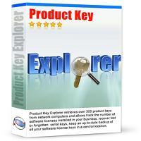 سریال نرم افزارها Product Key Explorer