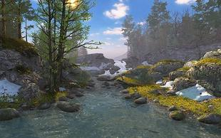 اسکرین سیور Springtime 3D Screensaver