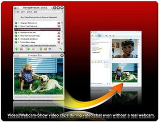 وبکم مجازی Video2Webcam