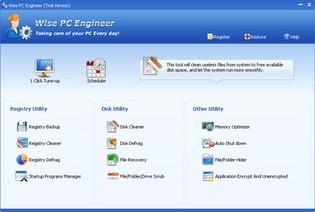 بهینه سازی سیستم Wise PC Engineer