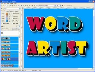 افکت روی متن Word Artist