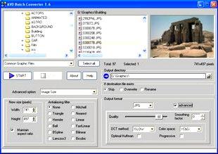 فرمت عکس AVD Batch Converter