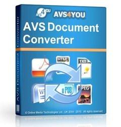 مبدل فایلهای متنی AVS Document Converter
