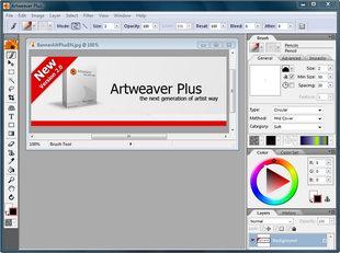 نرم افزار طراحی نقاشی Artweaver Plus