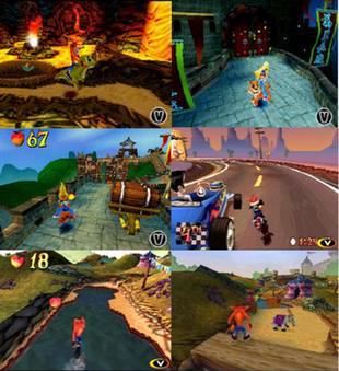 بازی Crash Bandicoot 3  Warped